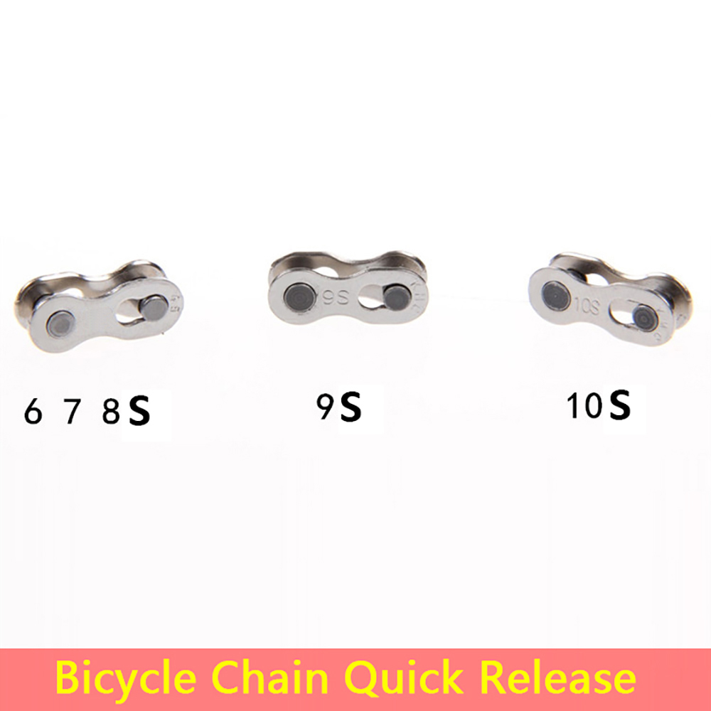 Bike Chain Joint Links Connector Kit 20pcs Quick Chain Master Link Durable