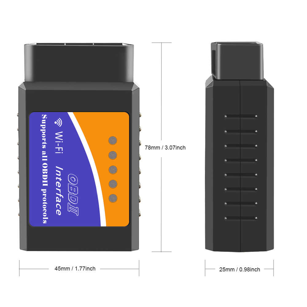 Mercedes Benz SUV OBD2 OBDII Scanner Interface Code Reader Wifi iPhone iPad