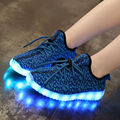 Baby Girls/Boys LED Light Sneakers, 7 LED Colors Children Fashion USB Charging  Sneakers, Kids Flashing Lights Shoes