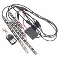 RGB LED Car Motorcycle Frame Glow Lights Flexible Neon 5050 Strip Light DC12V 24V Wireless Remote Control