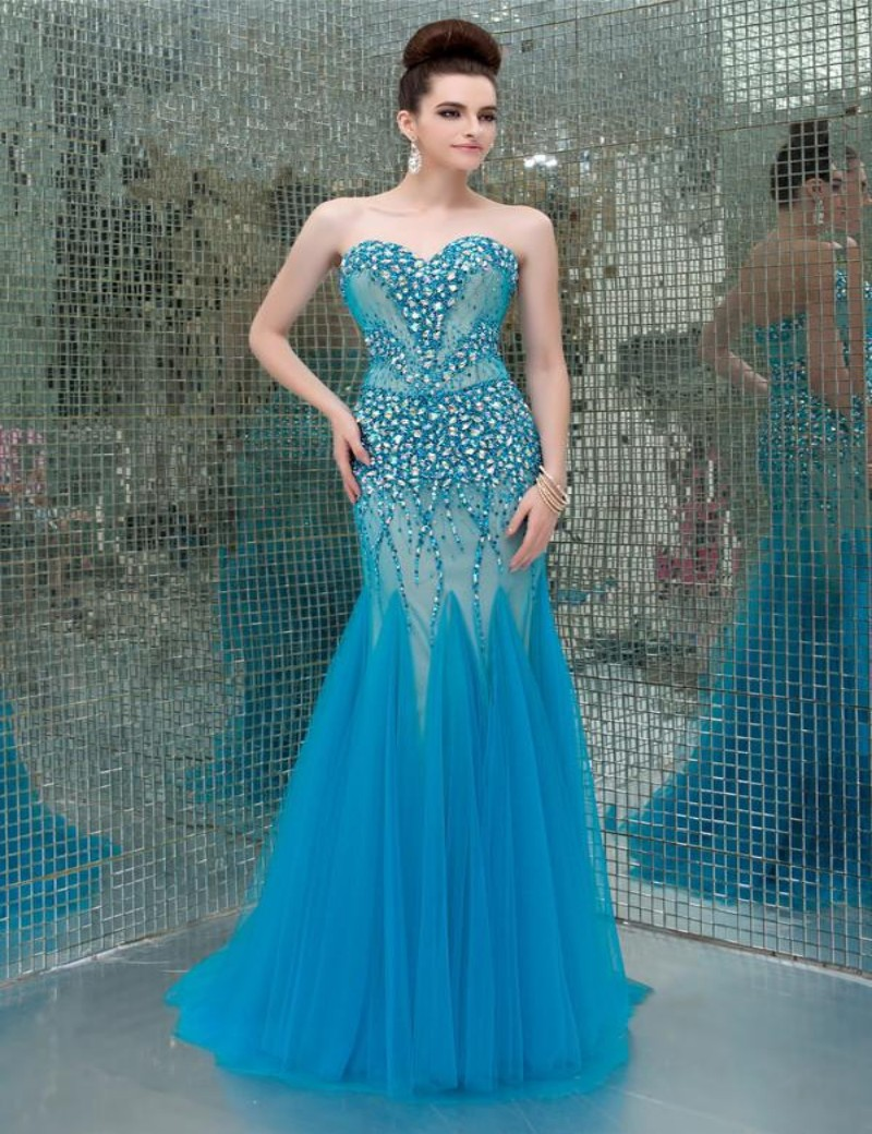 Aliexpress.com : Buy Newly Arrival vestidos de noche Sweetheart ...