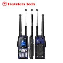 Original VHF Walkie Talkie PTT Robusto Teléfono Móvil A Prueba de agua de Oliva W18 GSM CDMA 450 MHz 2.4 Pulgadas de Pantalla 3000 mAh 3MP Dual SIM