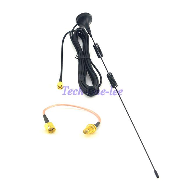 10 unidades 4 G 5 dbi Antena LTE 3 G 4 G LTE aérea 698-960 / 1700 - 2700 Mhz base magnética 3 M Antena + SMA a macho SMA para mujer cable 15 cm