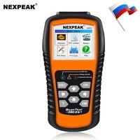 OBD OBD2 Automotive Scanner NEXPEAK NX501 Car Diagnostic Tool Scanner Auto Code Reader Detector Brake Fluid
