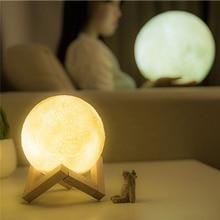 3D Moon Lamp USB LED Magical Light Home