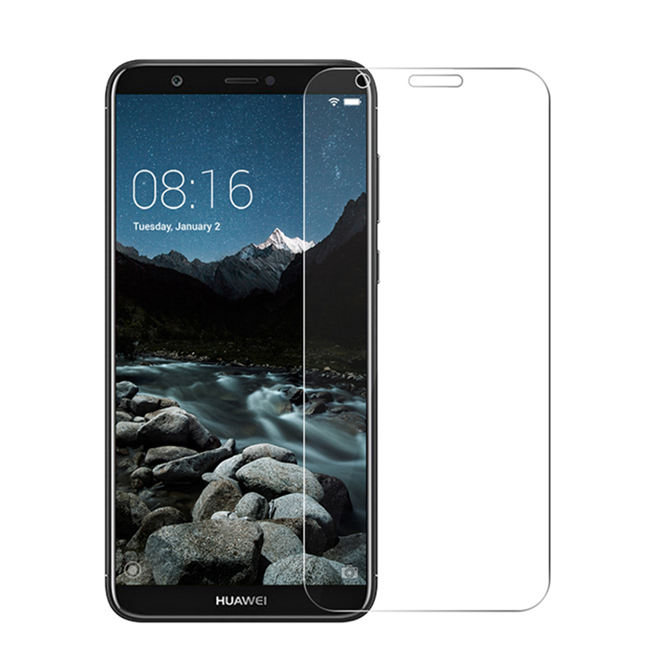 tempered glass screen protector for huawei honor 8x 9 10 y5 y6 y7 prime y9 2018(3)