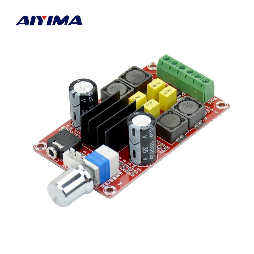 Aiyima Digital Amplifier Board Dc24v Tpa3116d2 2x50w 150w Lm3886 Power Dual Channel Stereo