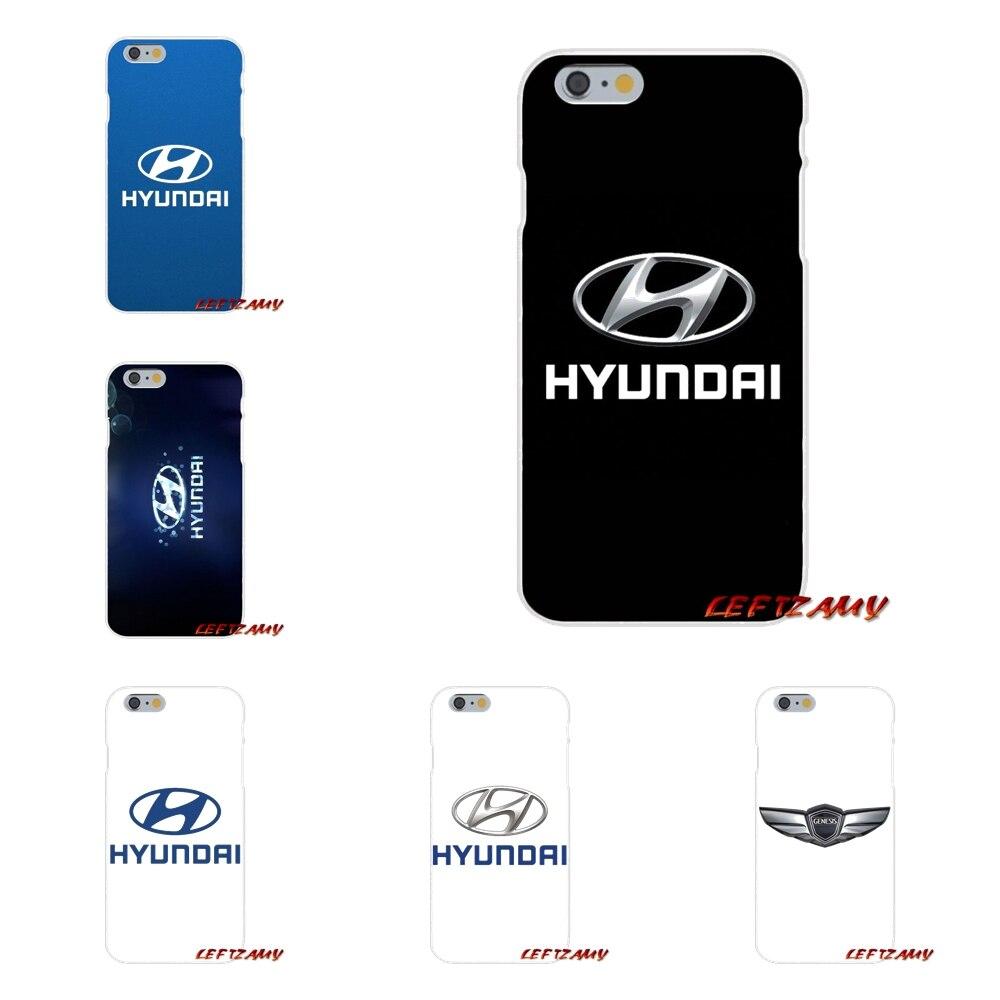 Hyundai логотип для sony Xperia M2 M4 M5 E3 XA Aqua Z Z1 Z2 Z3 Z5 компактный <font><b>LG</b></font> K4 7 8 10 <font><b>V20</b></font> V30 2017 аксессуары телефон чехлы