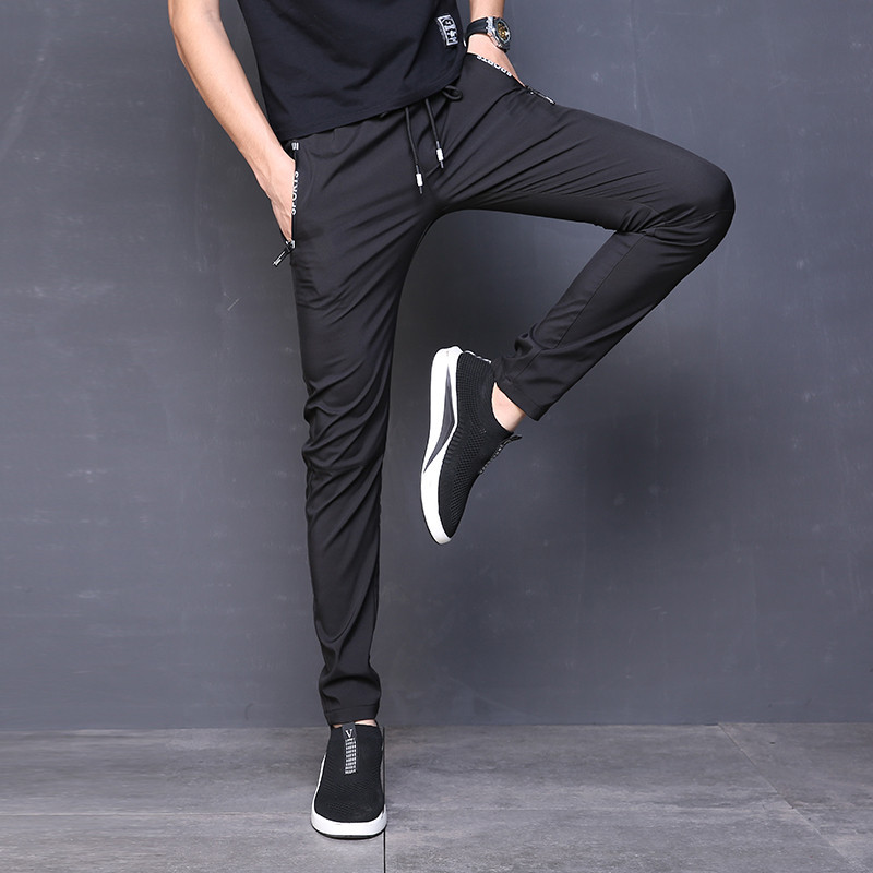 MRMT 2018 Spring And Summer Men's Tops Casual Pants Straight Breathable Trousers