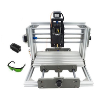 Russia Tax Free Shipping Mini CNC 2417 500mw 2500mw Laser CNC Engraving Pcb Milling Machine Diy