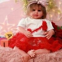 IVITA DS1802 ручная работа Очаровательная силиконовая Реалистичная кукла младенец, игрушка для маленьких девочек с нарисованными кровеносными