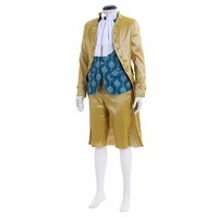 Викторианской элегантный готический аристократ 18th века джентльмен Косплэй костюм мужские фантазии Детский костюм для вечеринок костюм l0516
