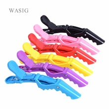 5Pcs/Pack Hairdressing Clamps Claw Clip Hair Salon Plastic Crocodile Barrette Holding Hair Section Clips Grip Tool Accessories