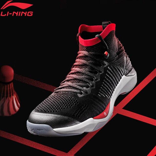 Li-Ning Men DAGGER Badminton Shoes Mono Yarn Cushion DRIVE FOAM Wearable TUFF TIP LiNing Sport Shoes Sneakers AYAN015 XYY096