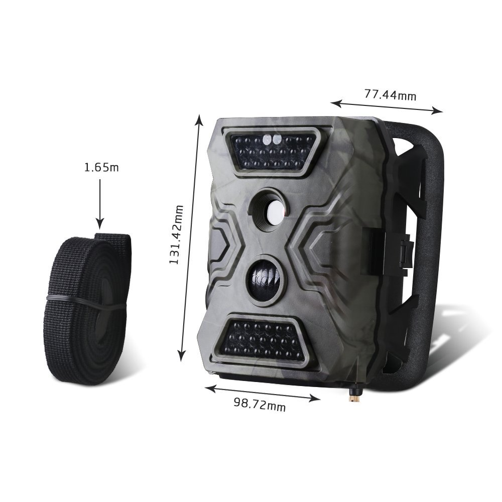 Image 5 - MMS Hunting Camera Trail Hunt Game Recorder 12MP HD Imaging IR LED Light Day & Night Available Forest Scouting Wildlife Camera-in Hunting Cameras from Sports & Entertainment