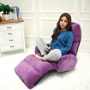 Sofa-Bed Couch Folding Multifunctional Indoor with Armrests Multi-Gear Adjustment Tatami