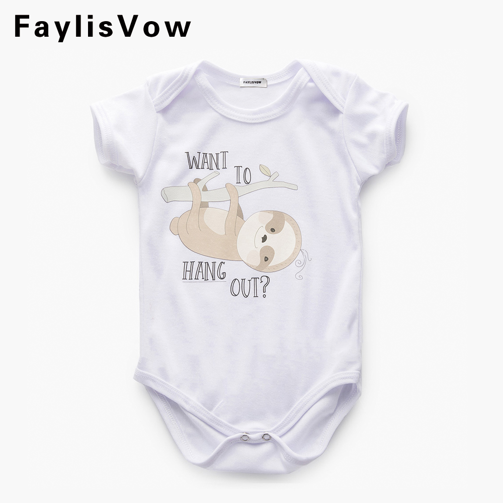 Clearance Baby Romper Cotton Clothes Boy Girl Costume Cartoon Bear Money Jumpsuit Newborn Pajama Infant Overall Roupas Infantis