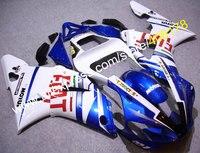 Горячие продаж, Дешевые Yzf1000 R1 00 01 тела комплект для Yamaha Yzf-R1 2000 - 2001 спортивный мотоцикл FIAT зализах мотоцикла ( давлением )