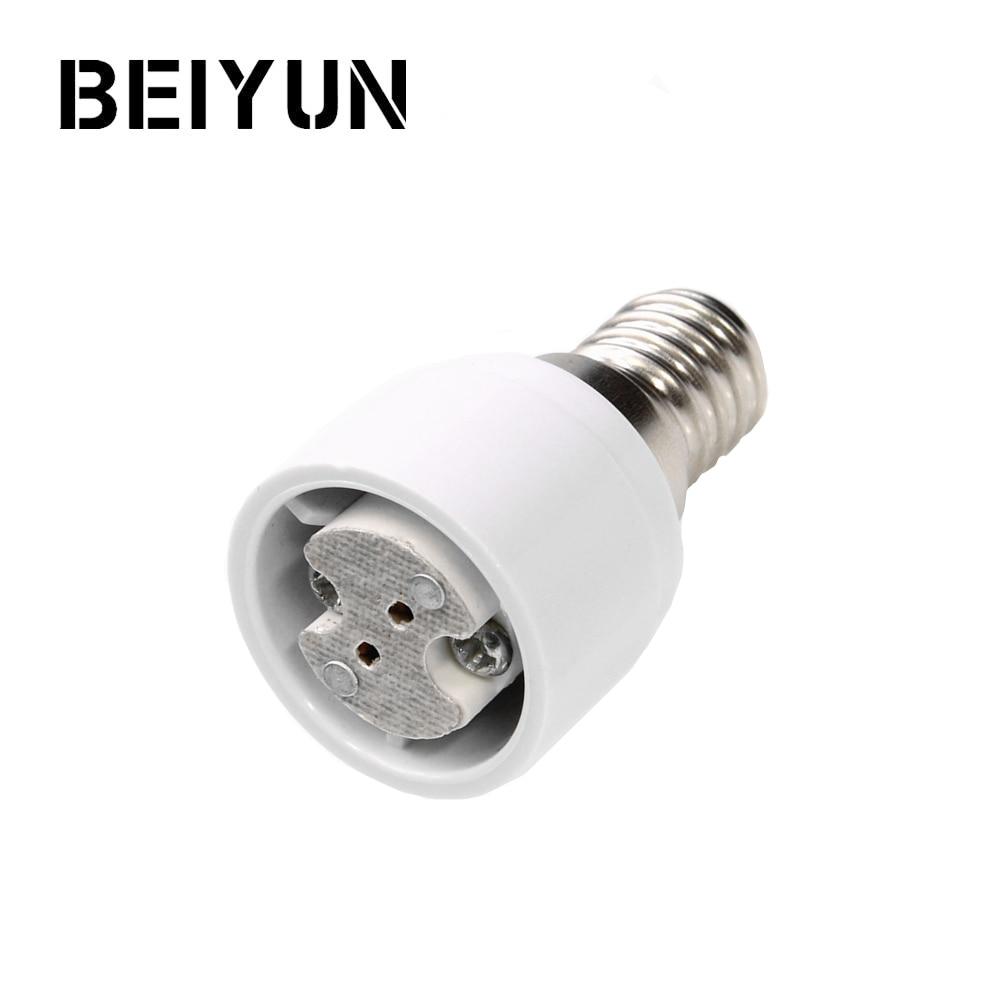 20pcs E12 To E14 Socket Adapter Led Light Bulb Lamp Holder Adapter E12-e14 Lamp Converter Free Shipping With Tracking No. Lights & Lighting Lamp Holder Converters