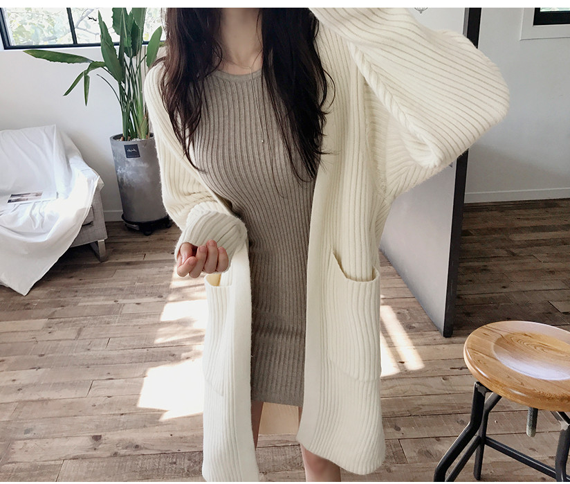 HTB1wGBWbovrK1RjSspcq6zzSXXa1 - skinny  solid Elegant Autumn Dress Girls Boho Female Vintage Dress knitting Women LongSleeve Women Dresses knitted Robe Vestido