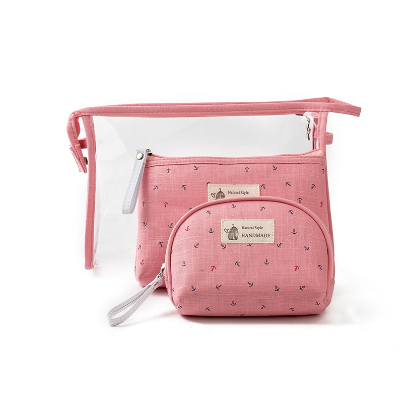 new fashion women composite bag brand lady sheer casual leisure set three piece