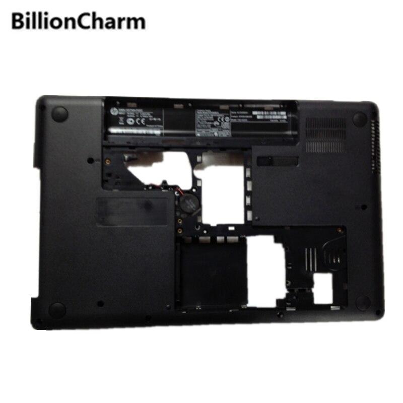 BillionCharmn Bottom Base Case Cover For HP CQ62 G62 Black D Shell 617022 001