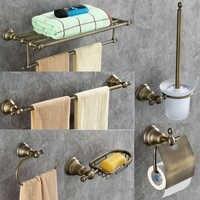 Aobite verde bronze toalheiro liga toalheiro do banheiro toalheiro toalete banheiro conjunto de ferragem pingente