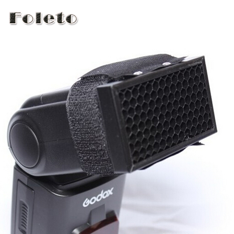 FOLETO HC-01 Honeycomb Grid Filter for Canon for Nikon for Pentax for Godox for YONGNUO Speedlite Flash Photo Studio Accessories недорго, оригинальная цена