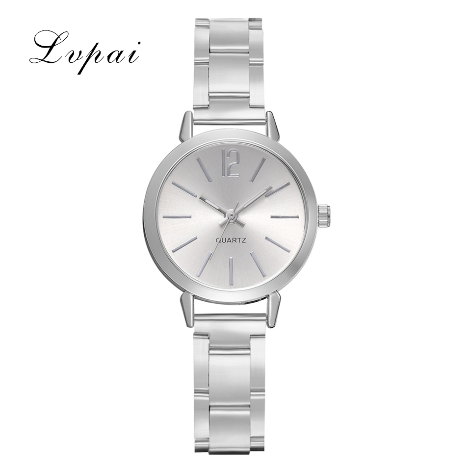 LVPAI Brand Women Watches Brand Luxury Small And Exquisite Watch Ladies Alloy Watchband Quartz Watches Dropshipping