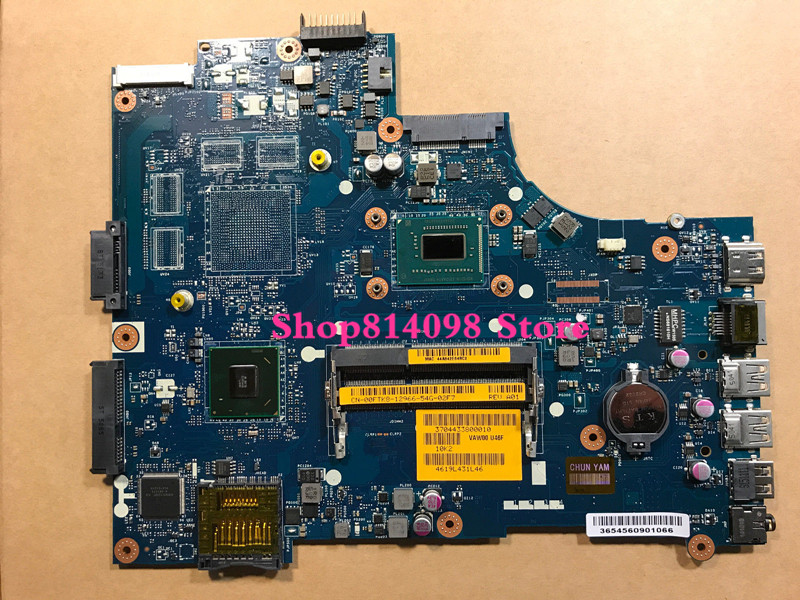 KEFU CN-06H8WV 6H8WV FIT FOR DELL INSPIRON 3521 5521 laptop motherboard VAW00 LA-9104P REV:1.0 1007U mainboard NOTEBOOK PC цена