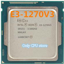 E3-1270 V3 3.5GHz 4-cores 8 MB LGA1150 80 W Server Processor E3-1270V3 CPU