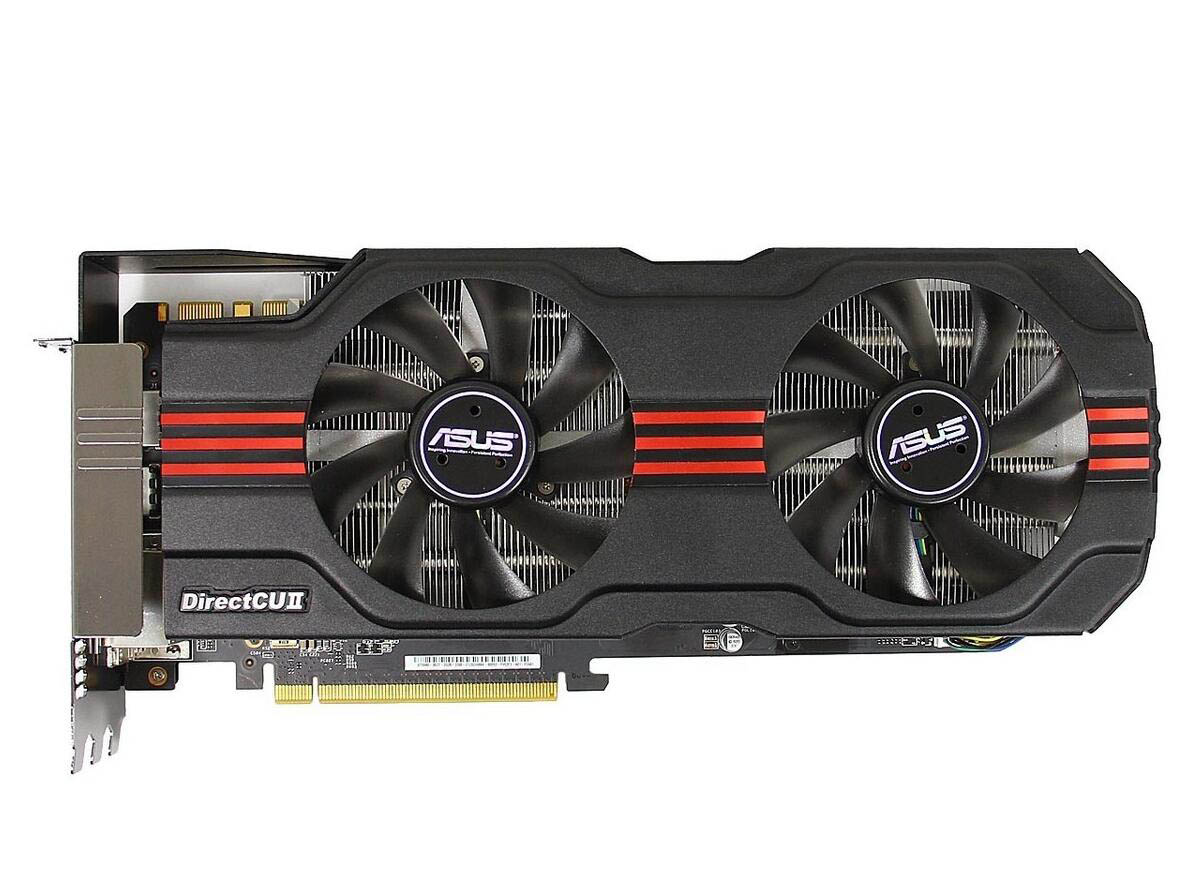 Used graphics card GTX680 2G GTX680-DC2T-2GD5 image