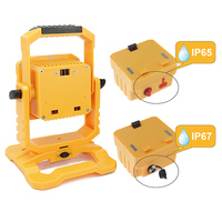 IP65 IP67 LED Rechargeable Flood Light 10W Detachable Flood Light DC12V Portable Work Light Lamp Cool