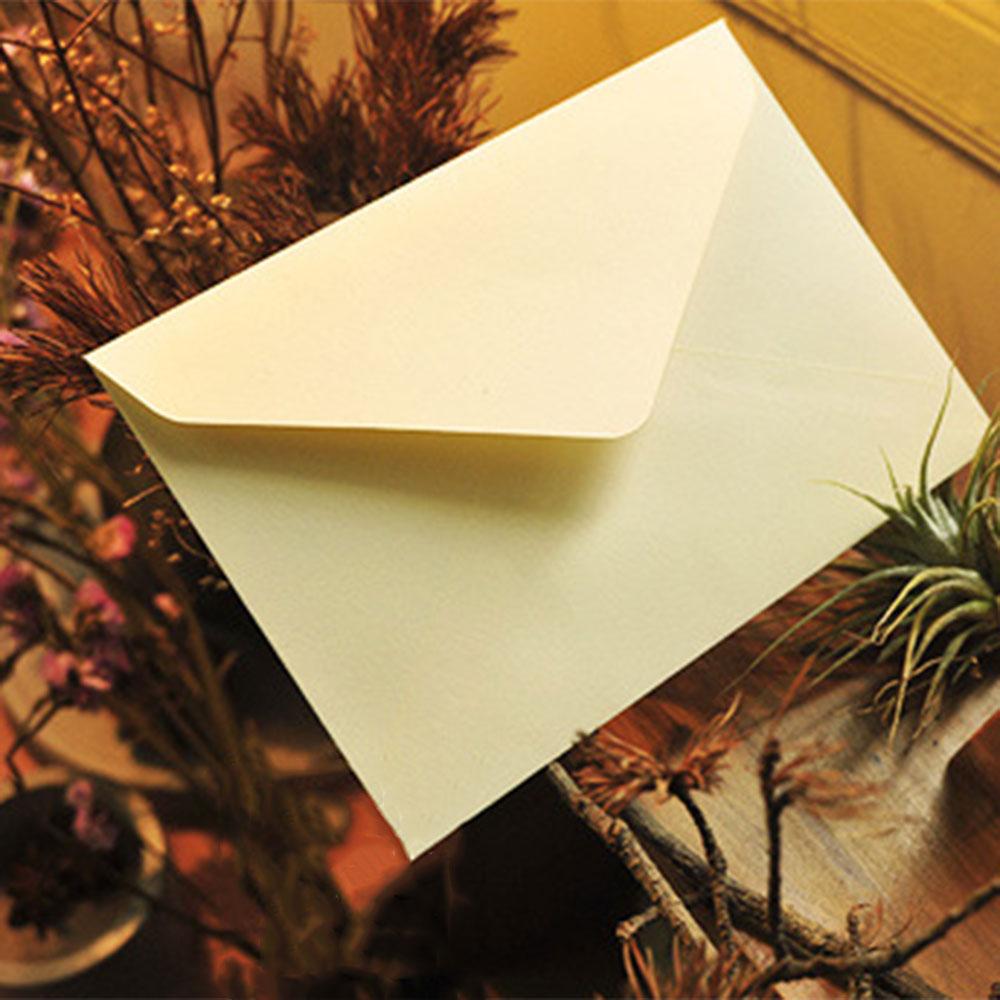 10 шт./лот 114 мм X 162 мм C6 переработанные конверты, открытки, конверты, открытки, цветные поздравительные открытки, классические, 3 цвета - Цвет: 10pcs Triangle White