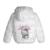 2-6Y 2016 Fashion Hello Kitty de la Muchacha del Invierno chaquetas con capucha para niños Abrigos de Invierno ropa de Abrigo y Abrigos de algodón chaquetas acolchadas