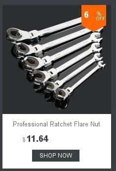 Professional Adjustable Spanner repair tool Ratchet Flare