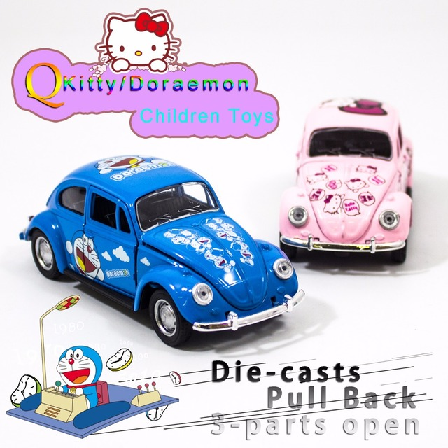 Free shipping 132 vw beetle classic alloy diecast car model toy free shipping 132 vw beetle classic alloy diecast car model toy cartoon vehicle doraemon voltagebd Choice Image