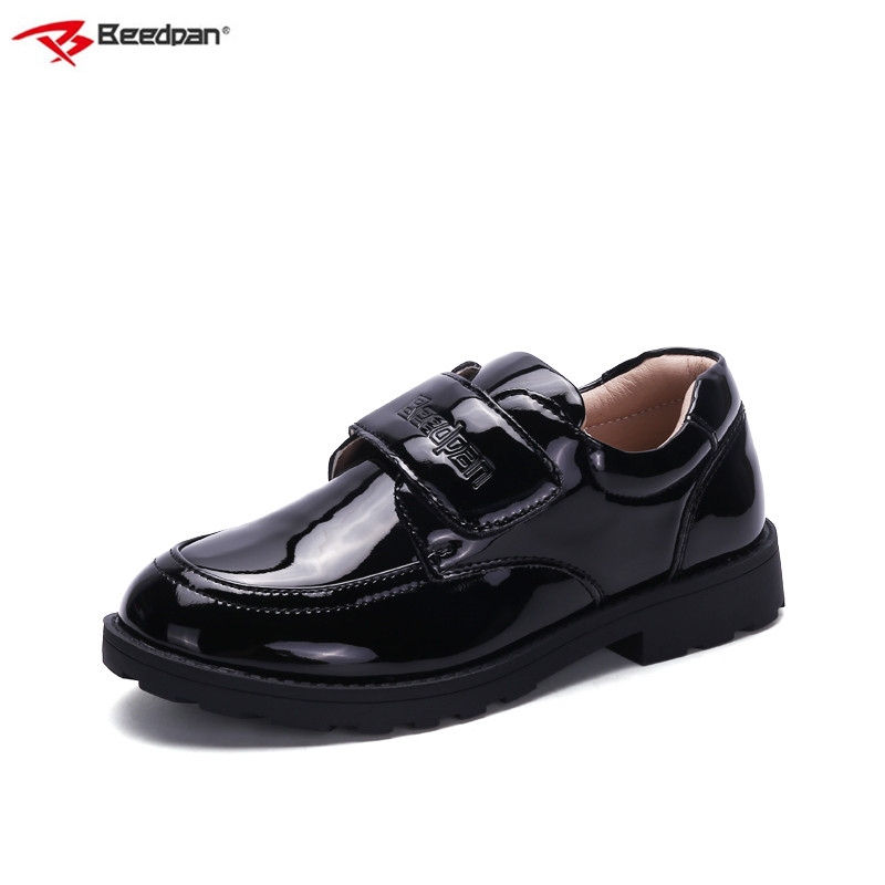 Beedpan Brand 2018 Spring Autumn Kids Leather Shoes For Boys School Black Boys Shoes Formal Toddler Boys Shoes For Wedding