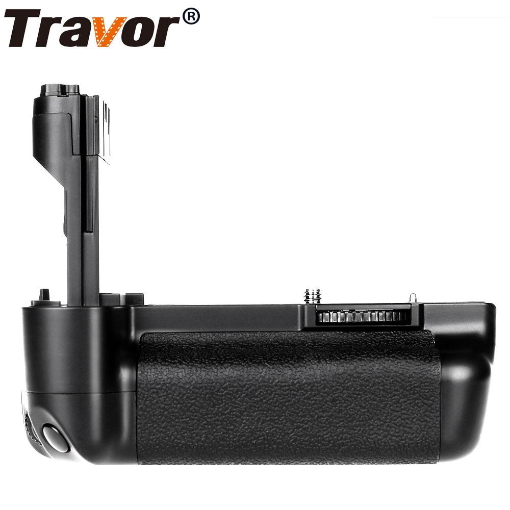 Travor Multi-Power Battery Grip for Canon EOS 5D Mark II 2 MK2 5DM2 DSLR Camera as BG-E6 ruibo bg e9 battery grip for canon eos 60d black