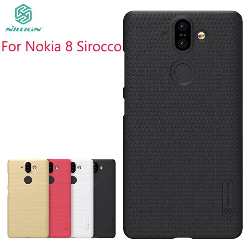 NILLKIN For Nokia 8 Sirocco Case Cover Pc Case For Nokia 8 Sirocco Fitted Cases Super Frosted Shield For Nokia 8 Sirocco