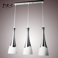 Modern Fashion LED Pendant Lights Cord Pendant Glass Shade Hanging Light Fixture for Dining Room and Bar Counter Lamp Luminaire
