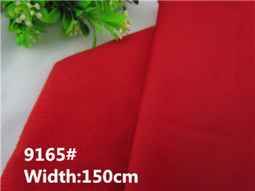 10pcs/lot 9165# red Baby toy skin cloth, Nylex,galling flannelette,material sticking sofa fabric,Handmade Stuff pile velvet