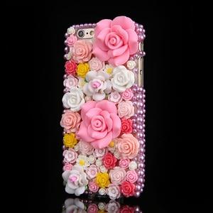 Image 2 - Luxury DIY Diamond Ruby Bling Funda Cases for Samsung Galaxy A50 A70 A10 A20E A40 A51 A71 A90 5G A31 A41 A30S A21S A01 Fundas