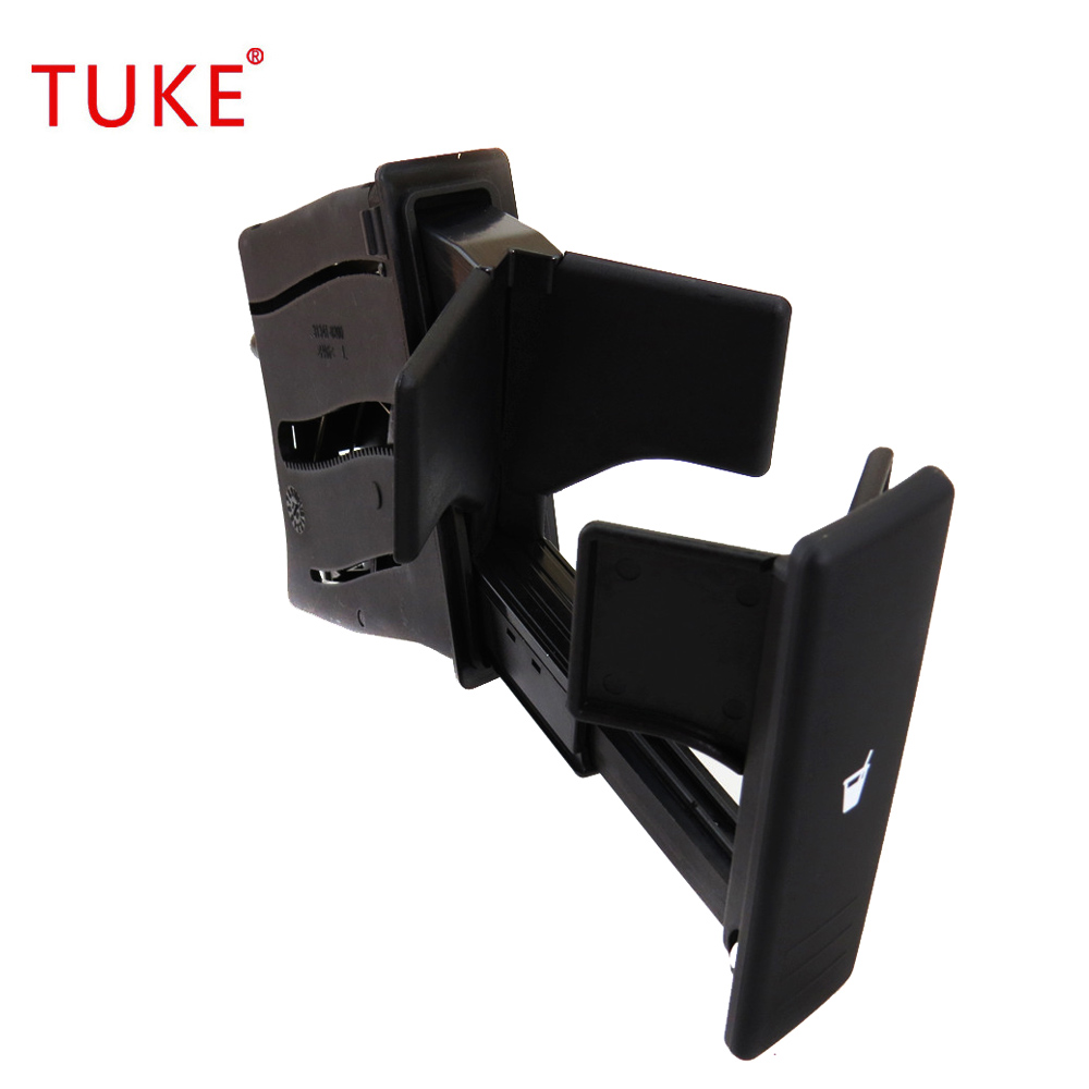 Tuke 6q0 858 602e 6q0858602 Abs Plastic Black Car Cup Rack
