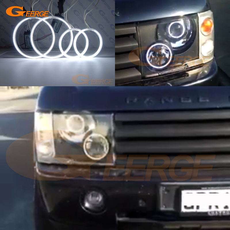 For Land Rover Range Rover 2003 2004 2005 Xenon Headlight Excellent Ultra bright illumination CCFL Angel Eyes kit Halo Ring for alfa romeo 147 2000 2001 2002 2003 2004 halogen headlight excellent ultra bright illumination ccfl angel eyes kit halo ring
