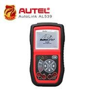 [5 pçs/lote] AutoLink AL539 PRÓXIMA GERAÇÃO Ferramenta de Teste de OBDII + Elétrica Auto Leitor de Código Funciona em TODOS OS 1996 e mais novos veículos