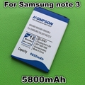5850mAh B800BC B800BE B800BU for Samsung Galaxy Note 3 Battery N9000 N9005 N900 N9002 N9008 Note III for Samsung note 3 battery