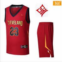 361 degree basketball sweatshirt men summer 2018 new breathable basketball sweatshirt shorts two-piece free shipping