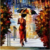 Diamond Painting Embroidery Kit Pictures Of Rhinestones New Needlework Home Decoration Paint Beauty Lady And Umbrella