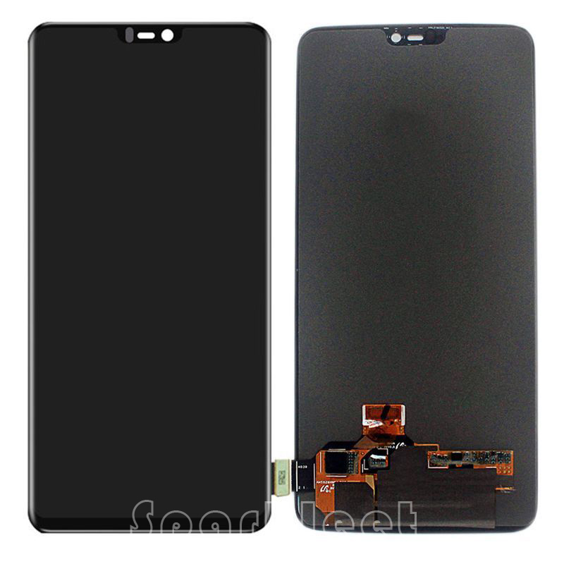 6.28 inch LCD <font><b>Screen</b></font> For <font><b>OnePlus</b></font> 6 <font><b>A6000</b></font> LCD Display Touch <font><b>Screen</b></font> Digitizer Assembly For <font><b>OnePlus</b></font> 6 1+6 Smartphone Replacement image